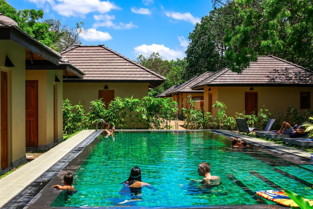The swimming pool at or near The Spice Trail