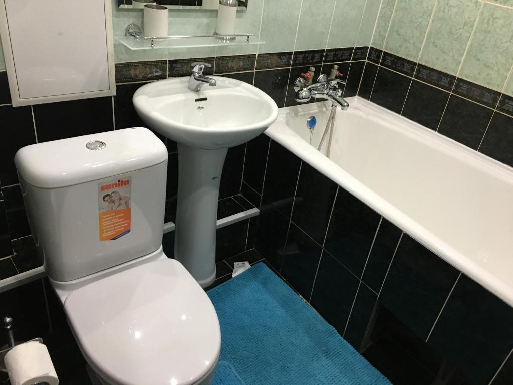 Ванная комната в Apartment on Sukhanova 5