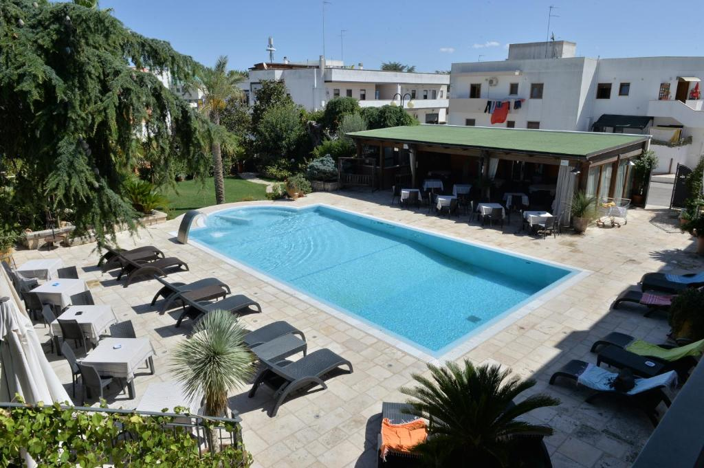 A view of the pool at Hotel Cuor Di Puglia or nearby