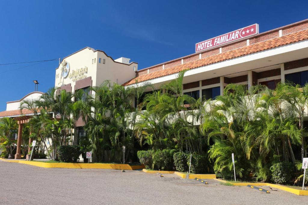The Hotel La Palapa.