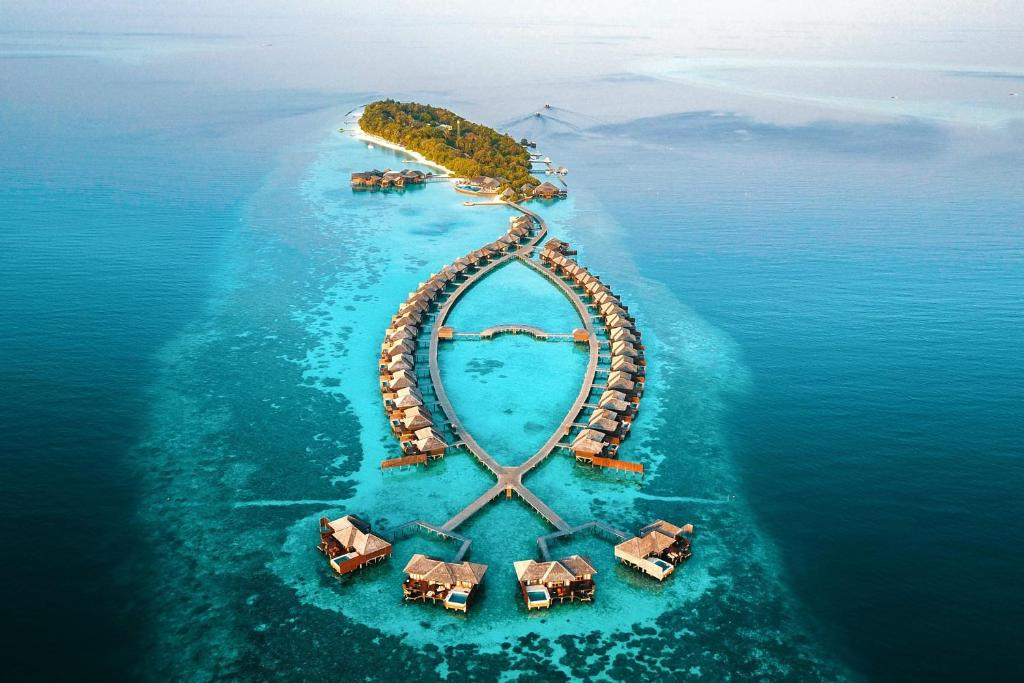 A bird's-eye view of Lily Beach Resort and Spa - All Inclusive