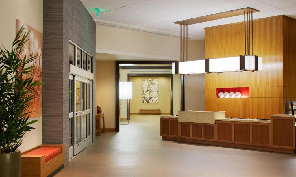 The lobby or reception area at Hyatt Place Denver Cherry Creek