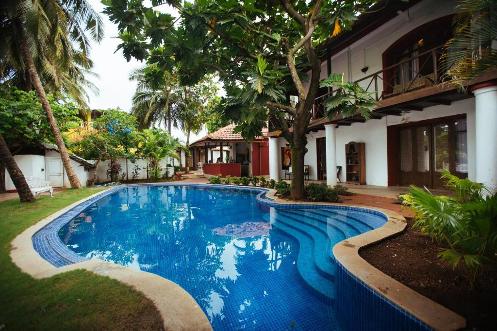 The swimming pool at or near Casa Britona