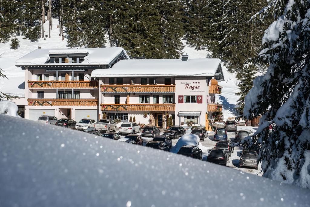 Hotel Garni Ragaz im Winter