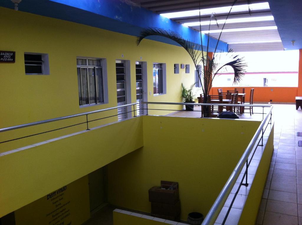 A balcony or terrace at Pousada Bem Brasil