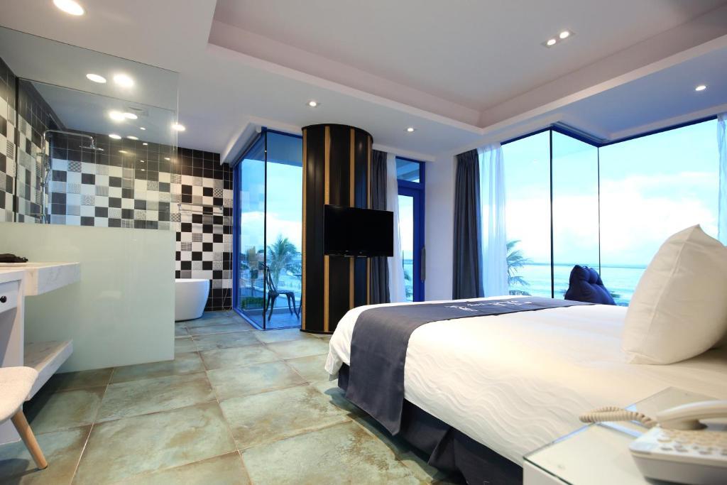 豪華海景雙人房-附陽台和浴缸的相片(第 4 張)