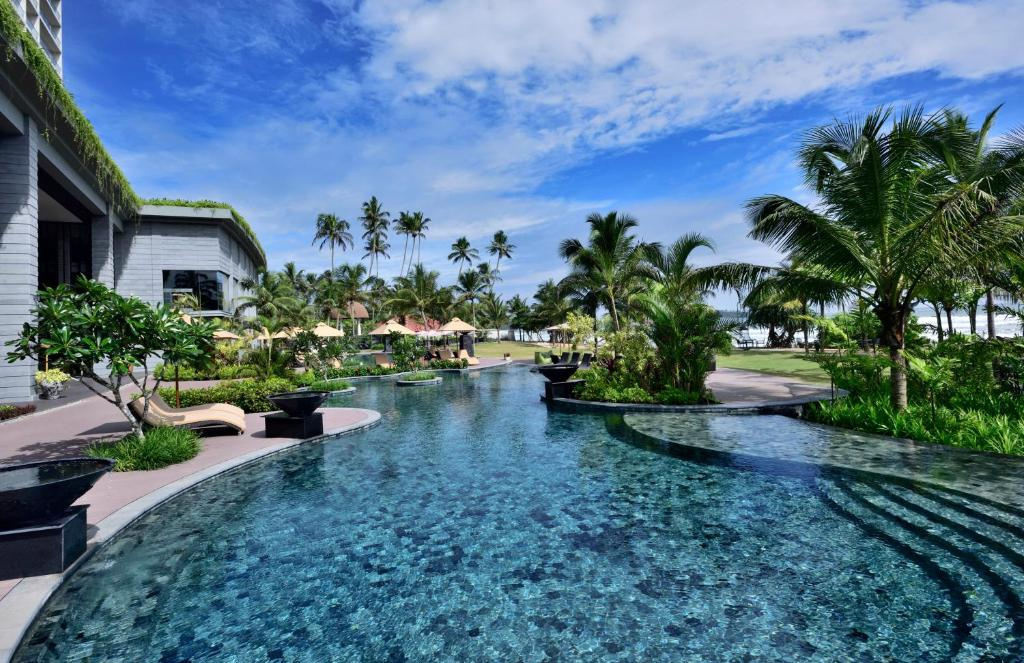 The swimming pool at or near Weligama Bay Marriott Resort & Spa