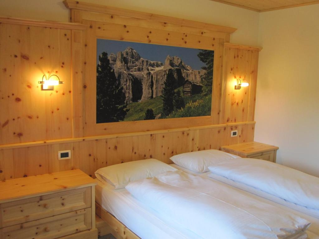 Кровать или кровати в номере Hotel Borest