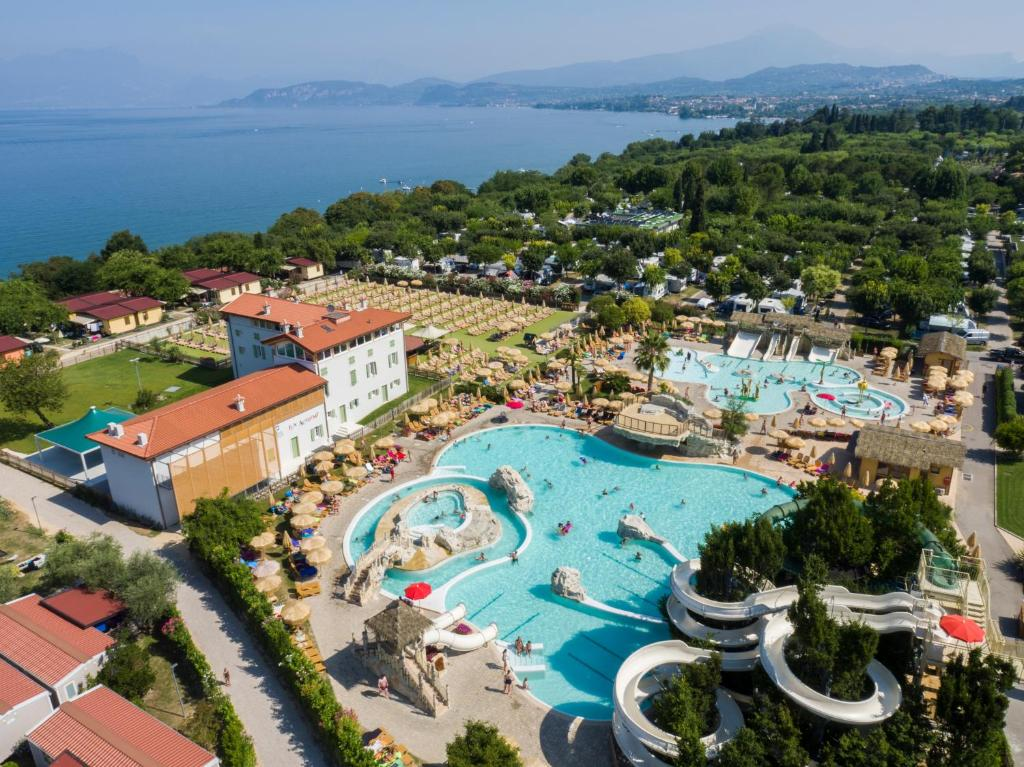 A bird's-eye view of Piani di Clodia Holidaypark