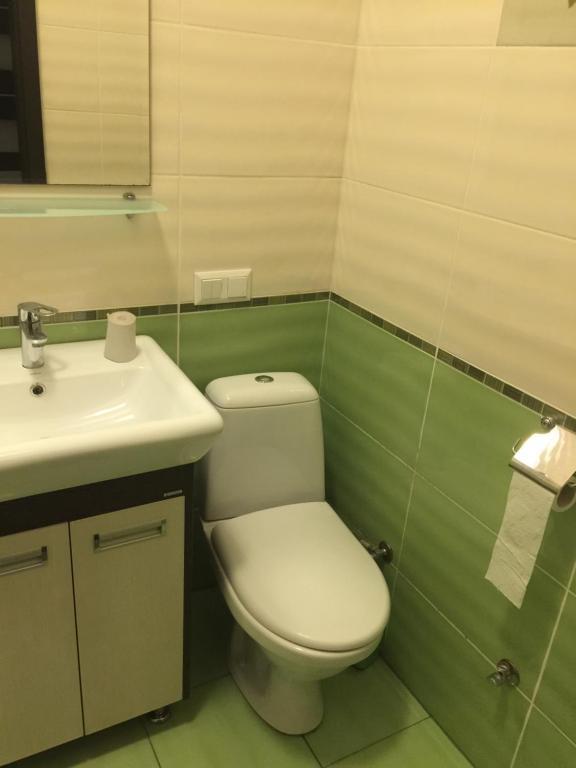 Ванная комната в Mini-hotel Megora