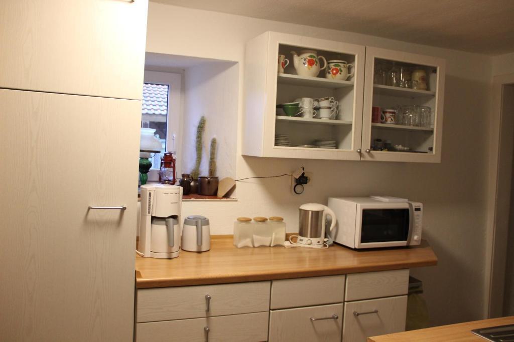 Küche/Küchenzeile in der Unterkunft Ferienhaus-Grambzow
