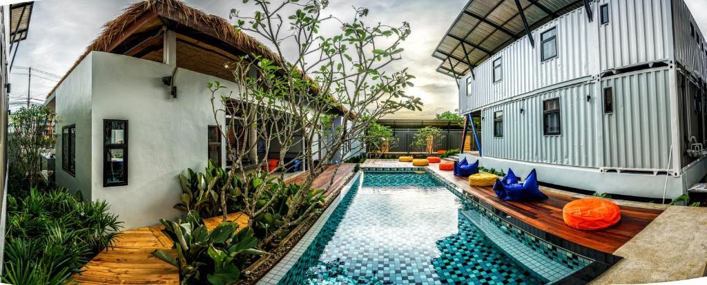 Der Swimmingpool an oder in der Nähe von Us Samui