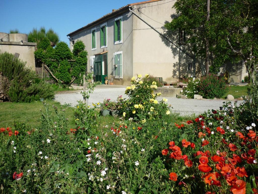A garden outside Virevent