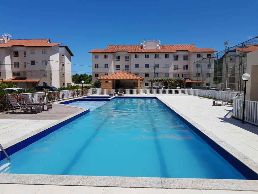 The swimming pool at or near Apartamento Modus Vivendi