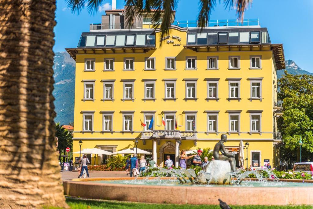 Grand Hotel Riva Riva del Garda, Italy