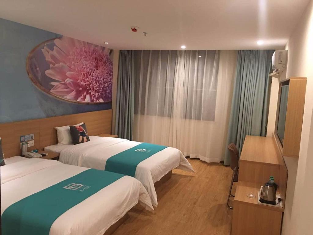 Pai Hotel Chongqing Wanzhou Gaosuntang Commerce And Trade City