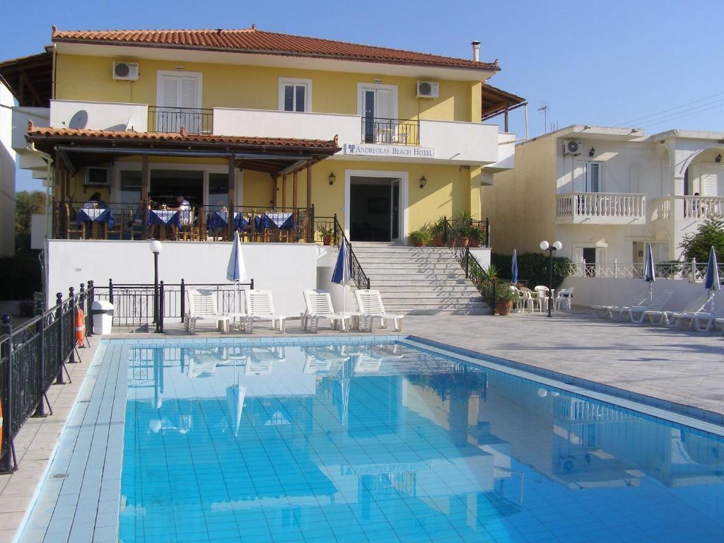 Andreolas Beach Hotel Laganas, Greece