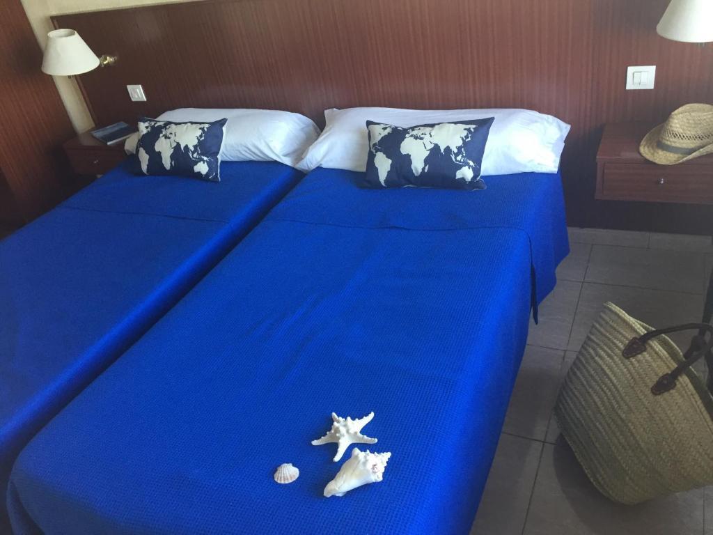 Hotel San Miguelにあるベッド