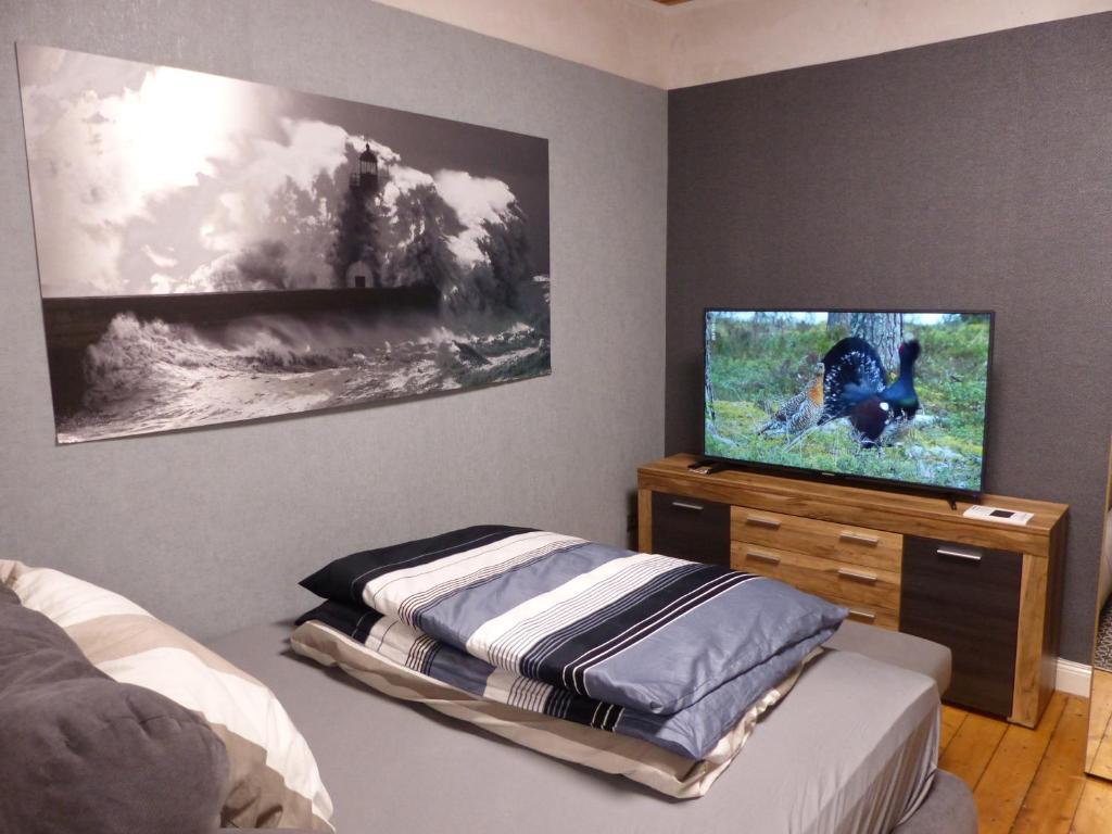 TV/Unterhaltungsangebot in der Unterkunft Executive Apartment