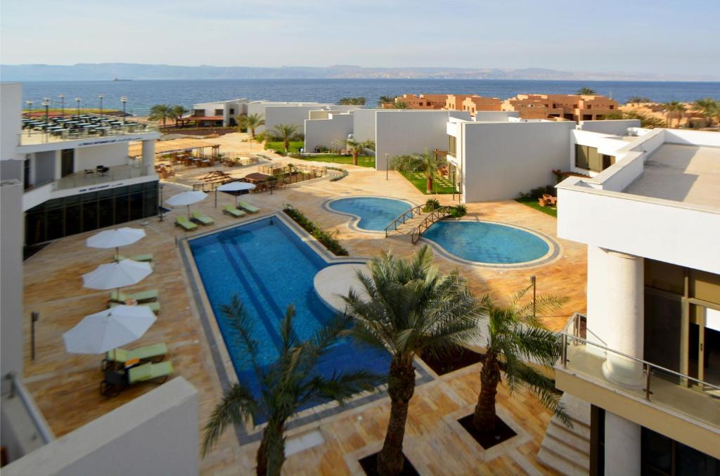 A view of the pool at Public Security Hotel & Chalets or nearby