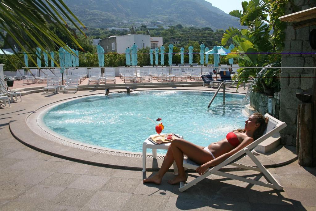 The swimming pool at or close to Hotel Parco Maria Terme