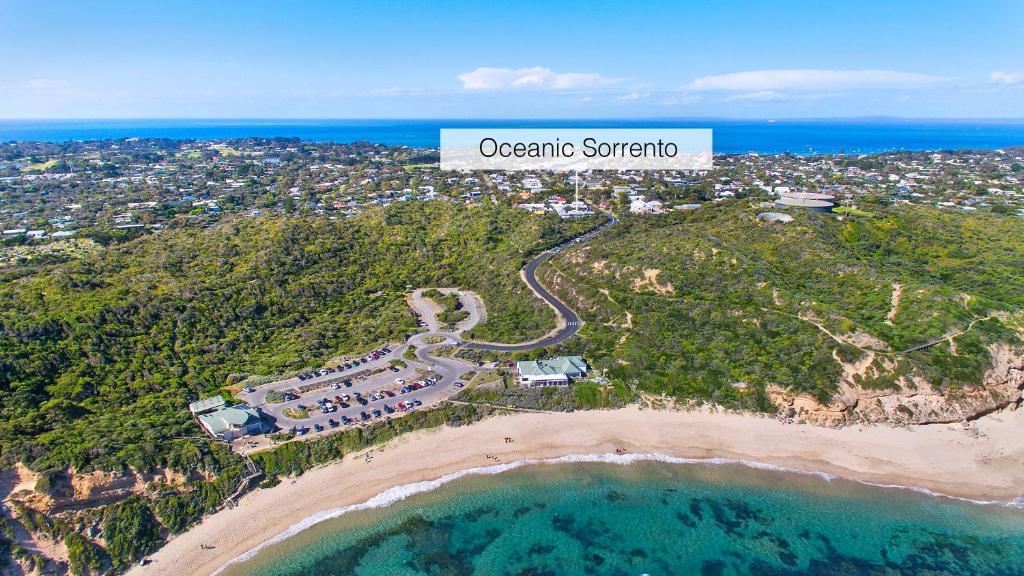 A bird's-eye view of Oceanic Sorrento