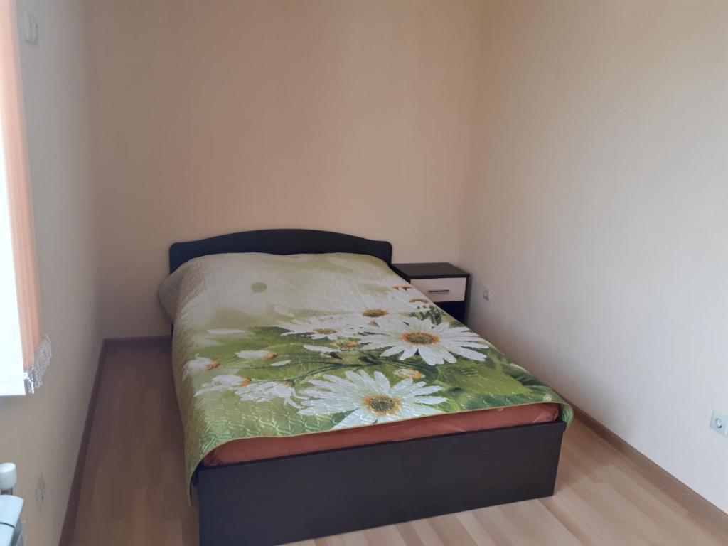 Кровать или кровати в номере Апарт-отель «Парковый»