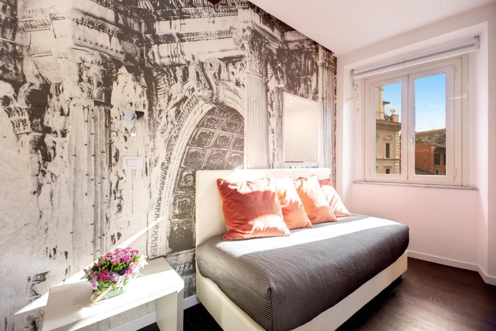 A room at the Albergo Abruzzi.