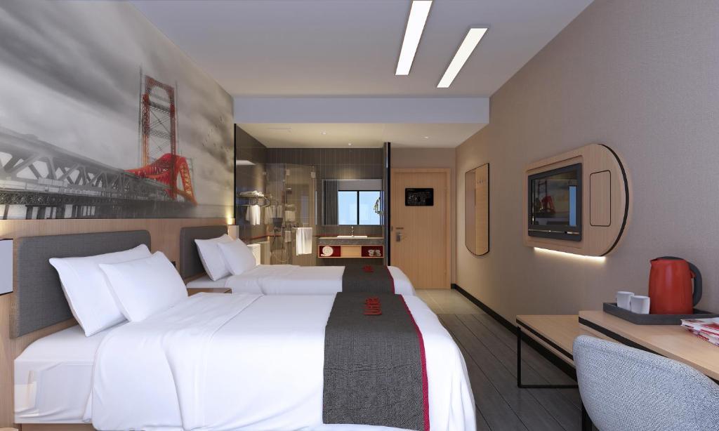 Thank Inn Chain Hotel Jiangsu Suqian Sihong Shuanggou Town Dongdajie