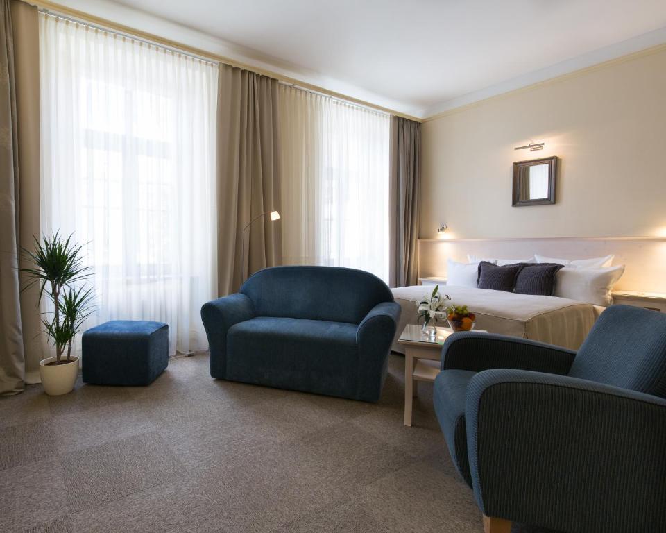 유니타스 호텔 휴식 공간