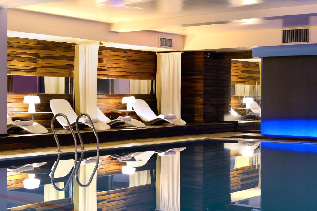 The swimming pool at or near Pestana Buenos Aires