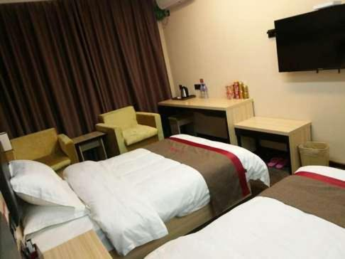 Thank Inn Chain Hotel Anhui Bengbu Wuhe County Chengnan Wangfu