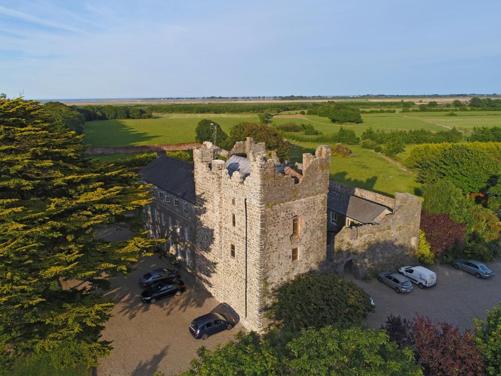 A bird's-eye view of Killiane Castle Country House & Farm