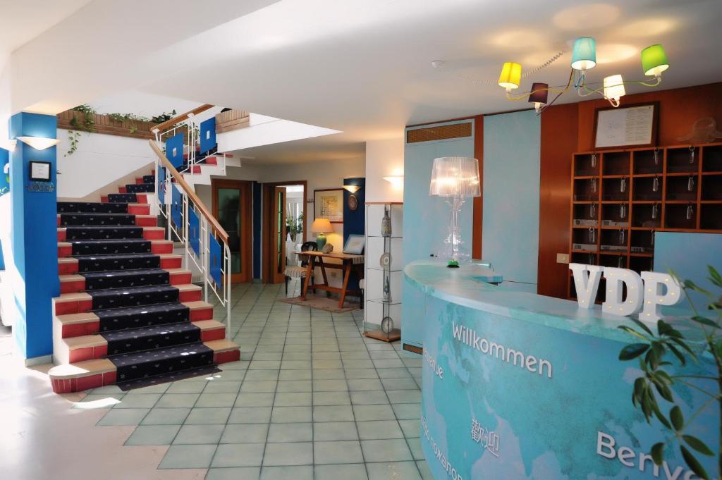 The lobby or reception area at Villa Dei Principi Hotel