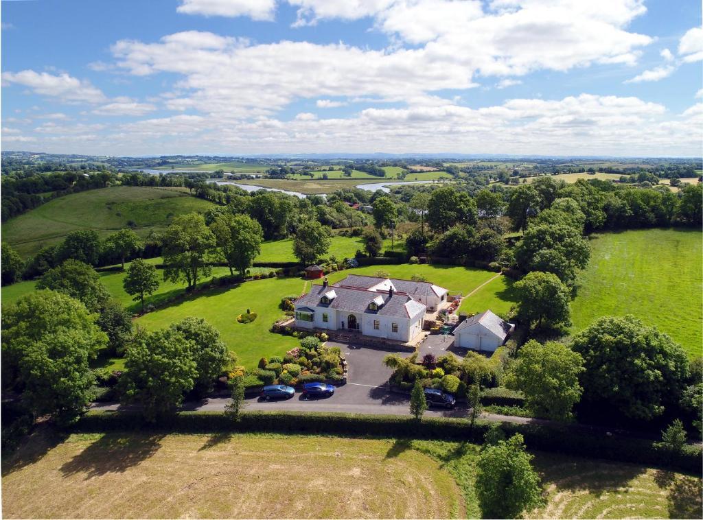 A bird's-eye view of Willowbank House