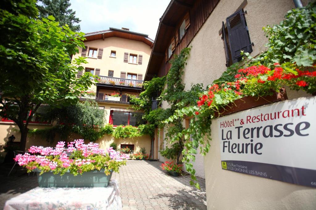 Logis La Terrasse Fleurie Divonne-les-Bains, France