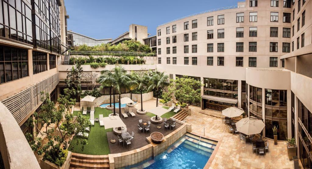 A view of the pool at Garden Court Umhlanga or nearby