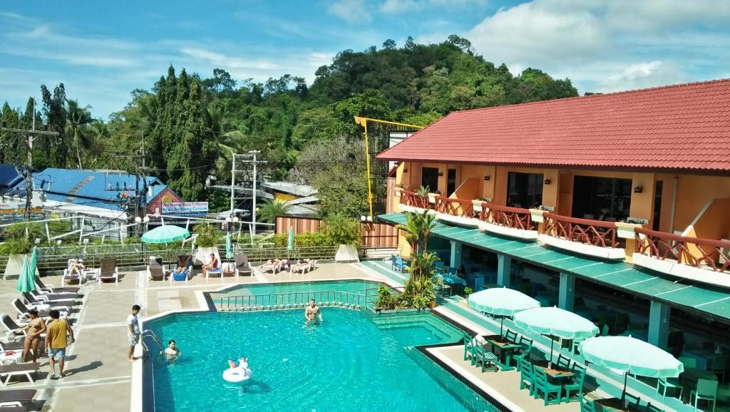 A view of the pool at Anyavee Ban Ao Nang Resort or nearby