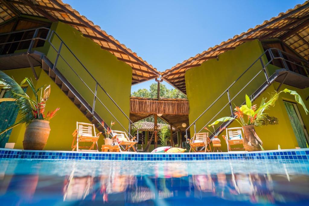 A piscina localizada em Casa do Arvoredo ou nos arredores
