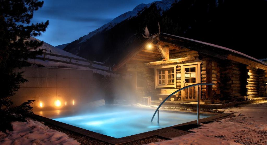 Hotel Madlein im Winter