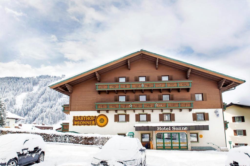 Hotel Sonne im Winter