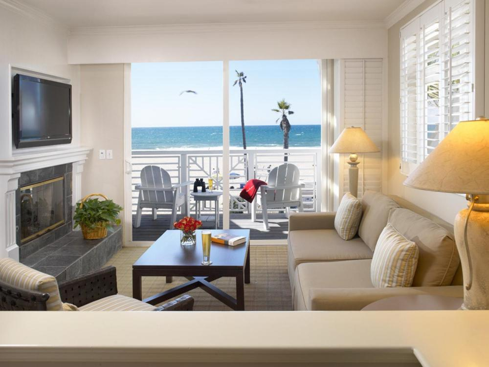 A room at The Beach House at Hermosa.