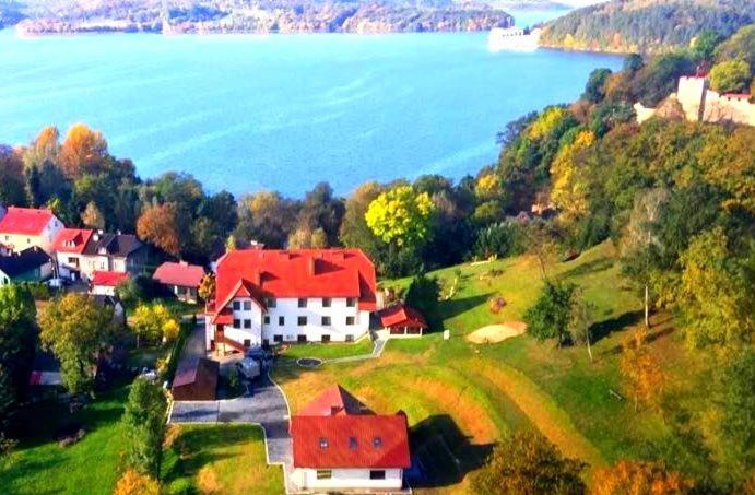 A bird's-eye view of Hotel Kasztelan