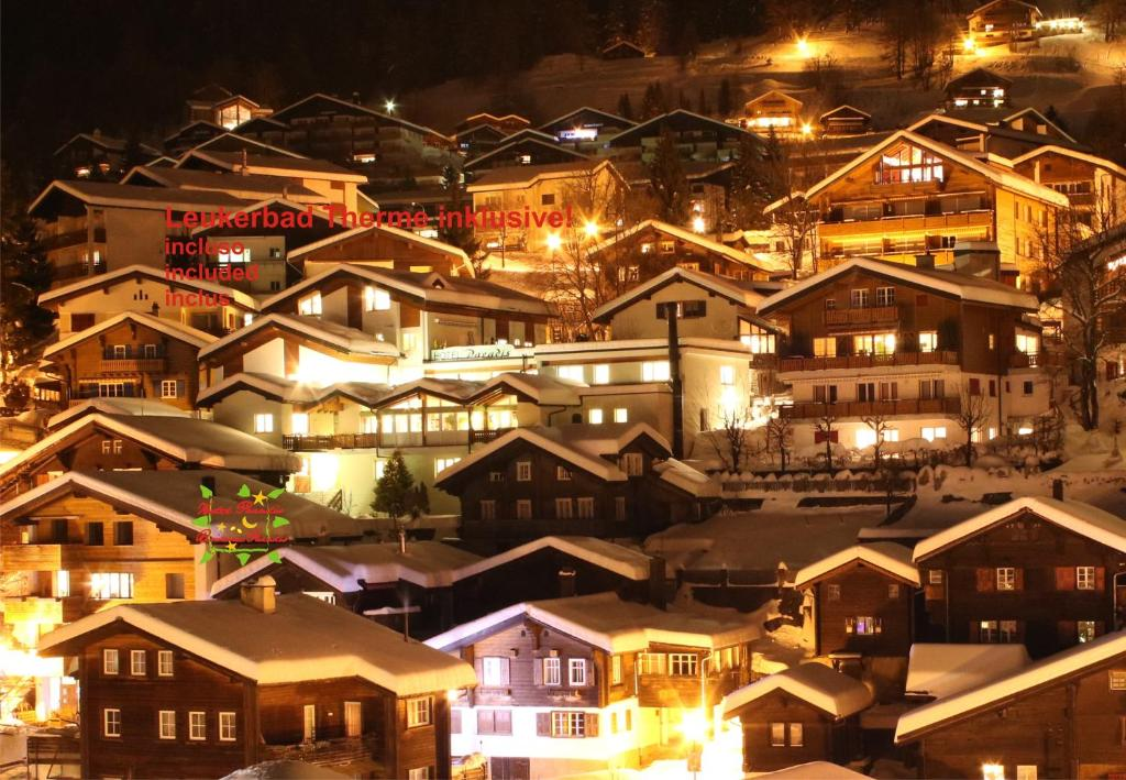 Hotel Paradis-Leukerbad-Therme Leukerbad, Switzerland