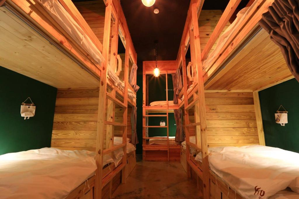 A bunk bed or bunk beds in a room at Kenting Original Hostel