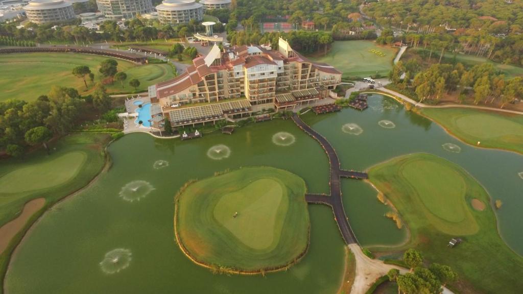Sueno Hotels Golf Belek a vista de pájaro