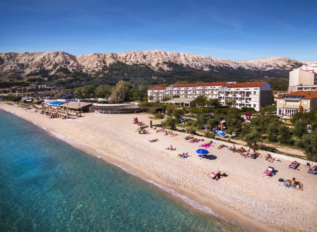 Vista aerea di Zvonimir Sunny Hotel by Valamar
