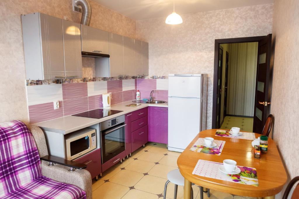 Кухня или мини-кухня в 25floors Magenta