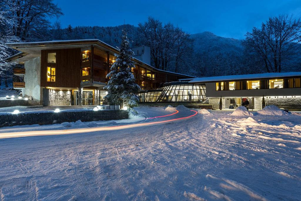 Rilets Resort & Spa during the winter
