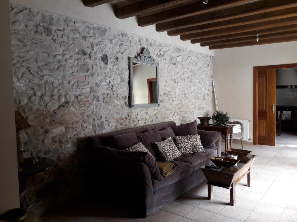 Zona de estar de Casa Vilademont